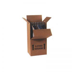 Wardrobe Box 24″ x 20″ x 46″ Heavy Duty Double Wall