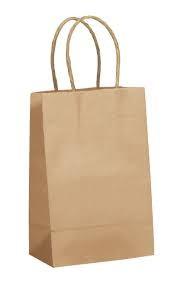 Kraft Natural Shopping Bags