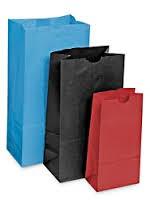 Kraft Color SOS Bags